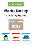 Phonics Reading Teaching Manual - Contents