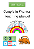 Complete Phonics Teaching Manual - Contents